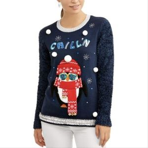 NEW LIGHT-UP Cute/Ugly Christmas Sweater!